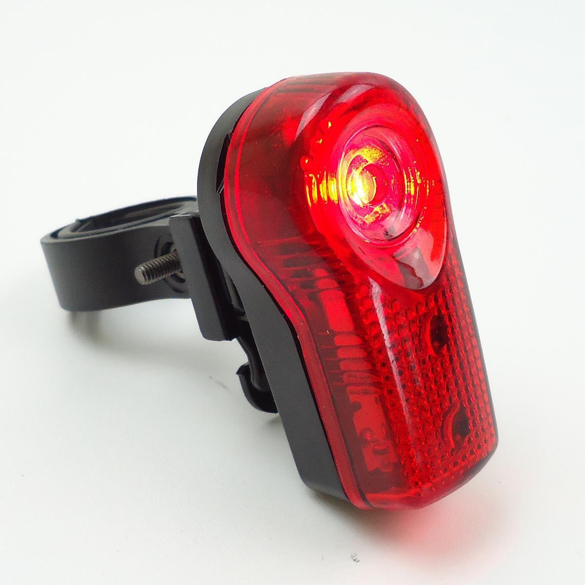 Sinalizador Traseiro Epic Line Orion com 3 Leds Vermelho Modos Luz Noturna Alta Potência