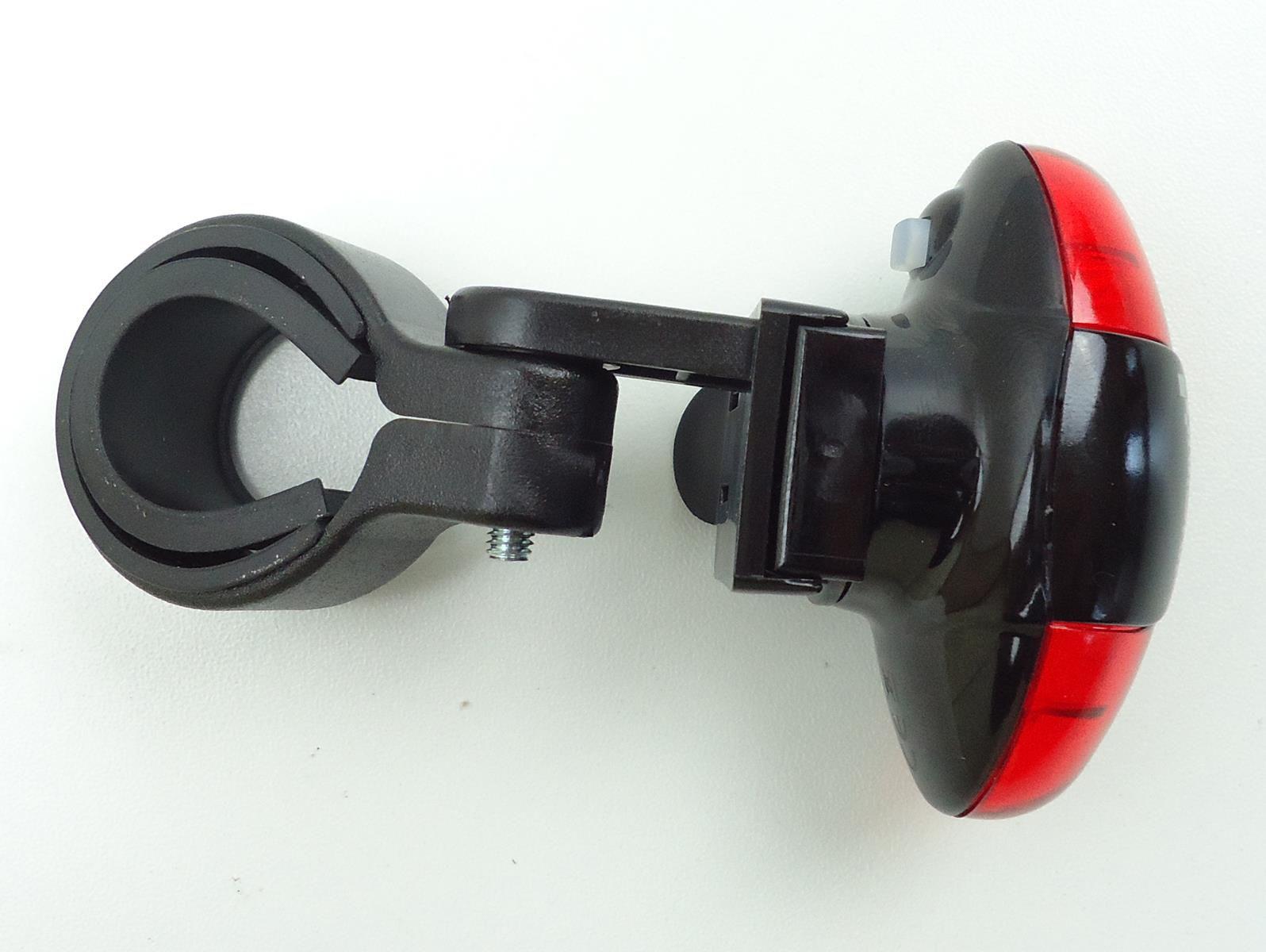 Sinalizador Traseiro Infini I405R Led Vermelho 5 Leds Modos Luz Noturna