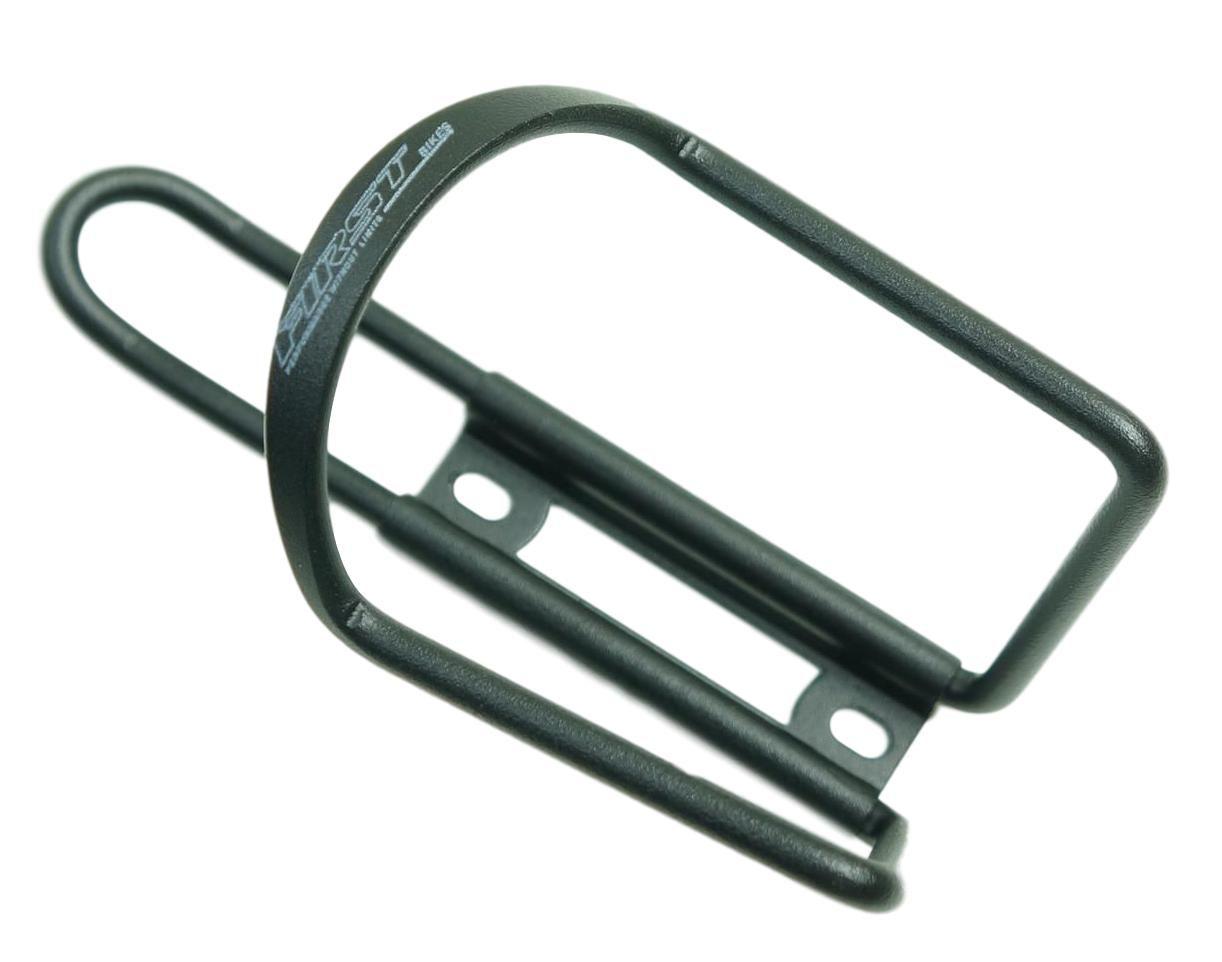 Suporte Garrafa Caramanhola Para Bicicletas First cor Preto em Aluminio