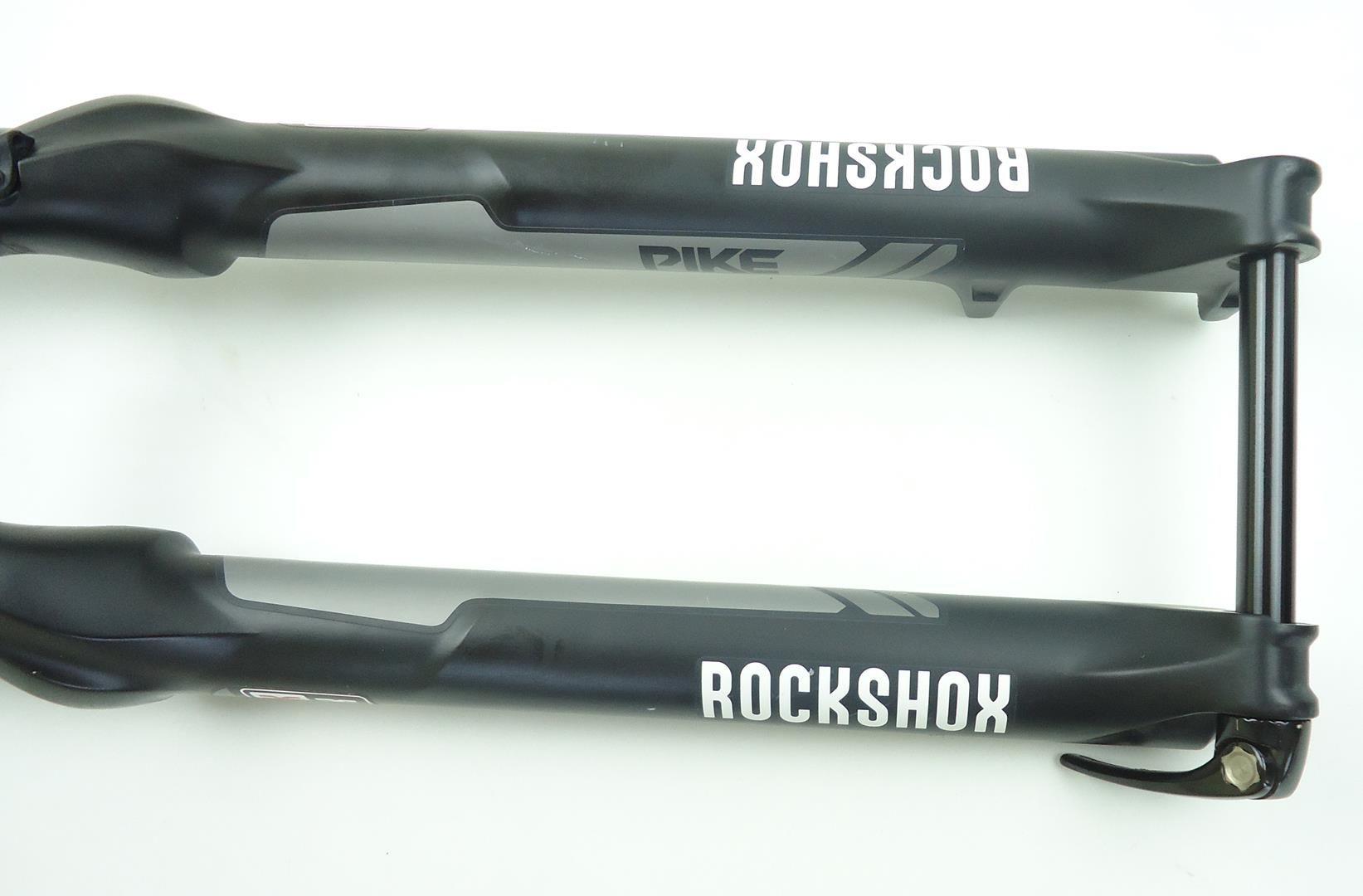 Suspensão Rock Shox Pike 29 160mm Eixo 15x100 2016 Preta Espiga Tapered - USADO