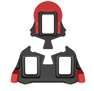 Taquinho Bipartido VP Components VP-ARC-SL Sem flutuação Shimano Vermelho