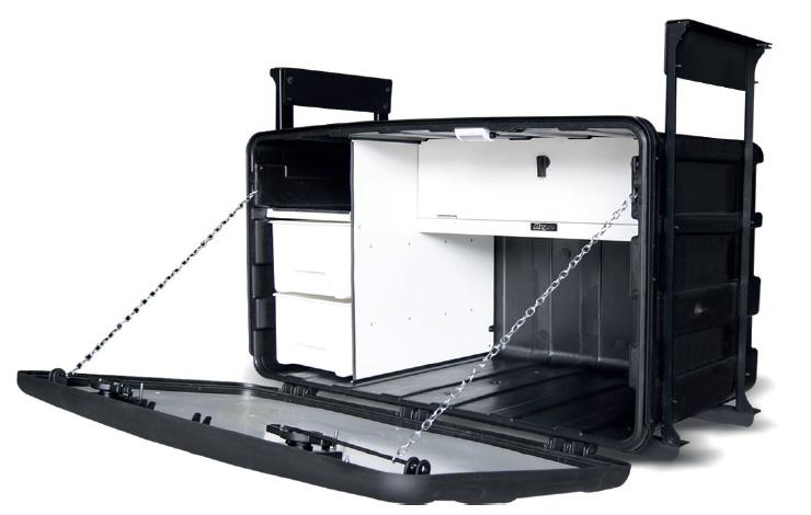 Caixa de cozinha  plastica grande standard bepo  - TERRA DE ASFALTO ACESSÓRIOS