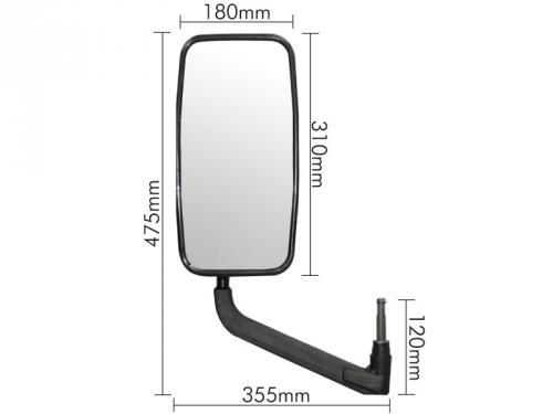 Conjunto Espelho Plano para MB 709 / 912