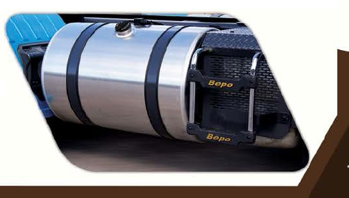Tanque De Combustível Alumínio - Scania  P/G/R Highline Bepo  - TERRA DE ASFALTO ACESSÓRIOS