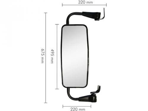 Conjunto Espelho Plano para SC T / R 112 / 113