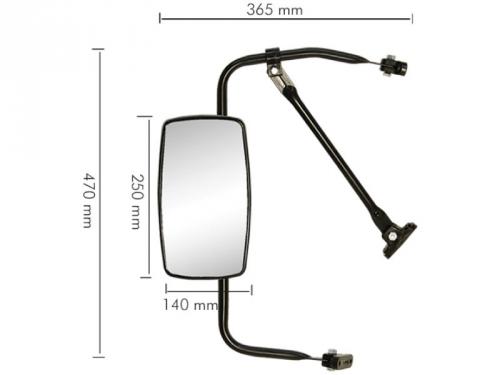 Conjunto Espelho Plano para ACD 10 / Kombi / Toyota