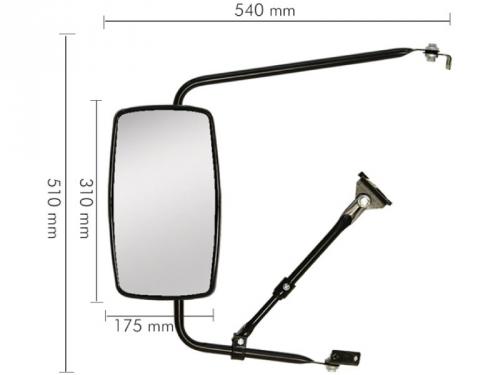 Conjunto Espelho Plano para F4000