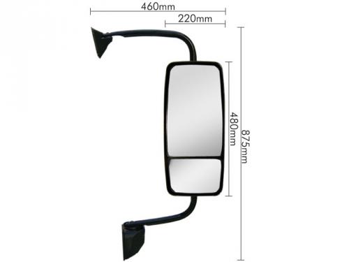 Conjunto Espelho Convexo / Bifocal LD para Ford Cargo 2011