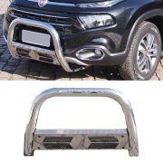 Parachoque de Impulsão Cromado Fiat Toro 4X4 - Bepo