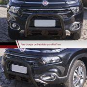 Parachoque de Impulsão Preto Fiat Toro 4X4 - Bepo