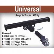 Engate de reboque removível universal s10 até 2011 hilux e frontier