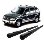 Estribo Tubular Preto Sportage ou Gran Sportage 1996 a 2004