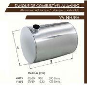 Tanque De Alumínio Volvo Fn / Nh - Bepo
