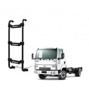 Escada Traseira 3 Degraus Preta Ford Cargo