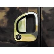 Aplique Maçaneta da Porta em Inox Ford Cargo Moderno ( para 2 Portas)