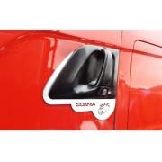 Moldura Inox Grifo Maçaneta da Porta Scania G / R 1998 em diante