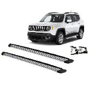 Estribo Lateral Slim Jeep Renegade 2015 2016 2017 Prata CCF