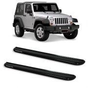 Estribo Plataforma Preto Jeep Wrangler 2P