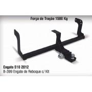 Engate de reboque removível nova s10   2012 - 2014 - 2015 - 2016 Bepo