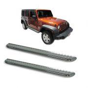 Estribo Plataforma Cromado Jeep Wrangler 4 portas
