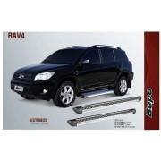 Estribo aluminio  g2 - bepo - toyota rav4 2007 a 2012