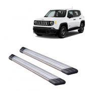 Estribo Alumínio Polido Para Jeep Renegade