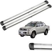 Estribo Bepo G3 Aluminio Hilux 2005 a 2015