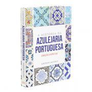 Livro Caixa Decorativo Book Box Azulejaria Portuguesa Fullway