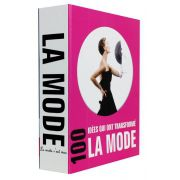 Livro Caixa Decorativo Book Box La Mode