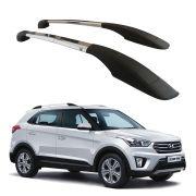Longarina Teto Decorativa Hyundai Creta PCD Alumínio Polido