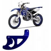 Proteção de Disco de Freio Traseiro Alumínio Anodizado Azul YZF / WRF