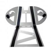Proteção de Motor Alumínio Polido Ventilada CRF230