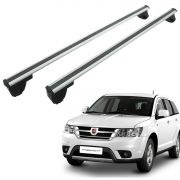 Travessa rack de teto Bepo Eros polido Freemont 2012 a 2016 ou Dodge Journey 2010 a 2017