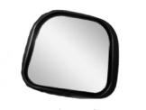 Vidro Espelho Convexo Menor C/ Moldura P/ SC 124 (S245/A)  - TERRA DE ASFALTO ACESSÓRIOS
