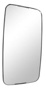 Vidro Espelho Convexo Maior P/ SC T/R124P (S251/A/B)  - TERRA DE ASFALTO ACESSÓRIOS