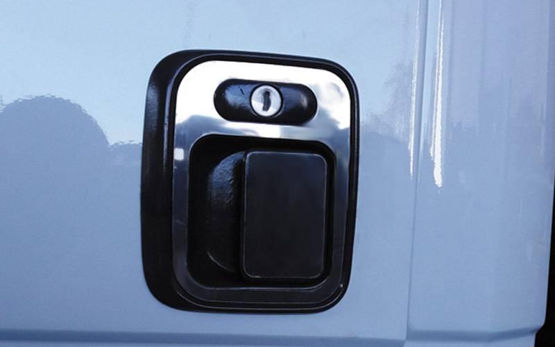 Aplique Maçaneta Porta Inox MB 1620 / 1630 / 710 ( para 2 Portas)