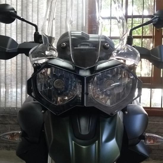 Proteção de Farol Tiger 1200cc 800cc Todos os Modelos