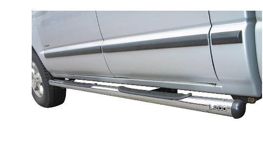 Estribo Tubular Cromado L200 GL 1999 a 2005 ou L200 GLS 1999 a 2004
