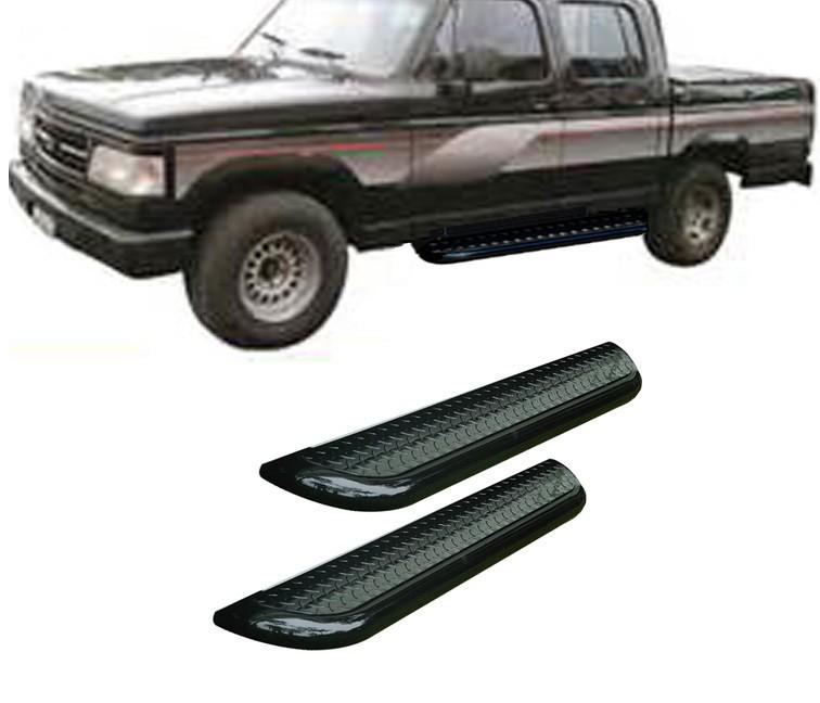 Estribo Plataforma Preto D20 1985 a 1996 Cabine Dupla