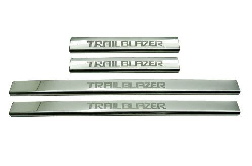 Protetor de Soleira Aço Inox Trailblazer 2013 em diante