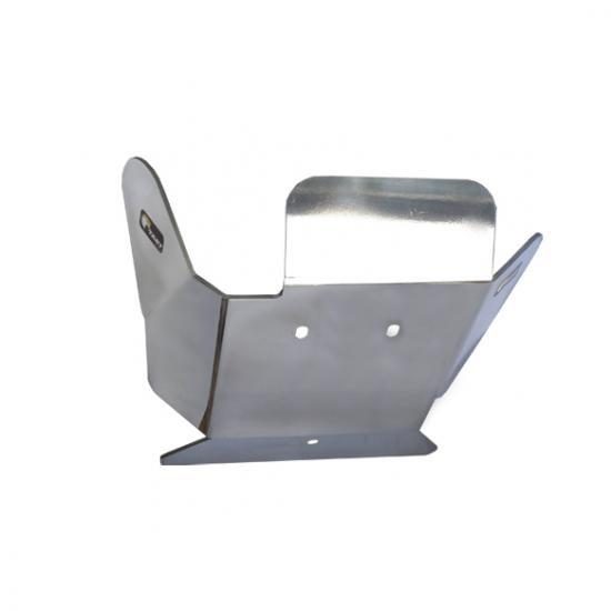 Proteção de Motor Alumínio Polido KTM / Husaberg / Husqvarna 2 Tempos