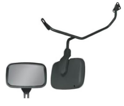 Conjunto Espelho Auxiliar Frontal Convexo Com Braço SC / VW / Ford / MB / Volvo / Iveco
