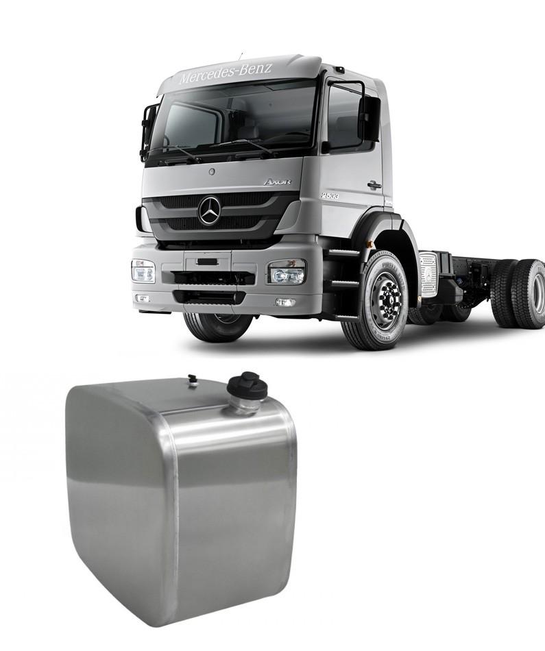 Tanque de Combustível em Alumínio para Mercedes Benz Axor LE 130L