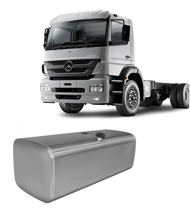 Tanque de Combustível em Alumínio para Mercedes Benz Axor LD 500L