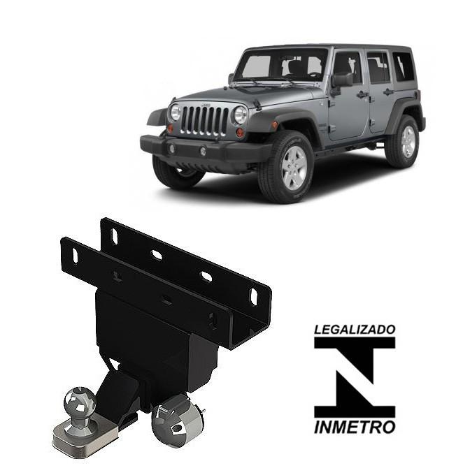 Engate De Reboque Removível Ponteira Alta Jeep Wrangler 2007