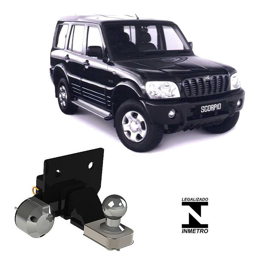 Engate De Reboque Removível Ponteira Alta Mahindra SUV Scorpio