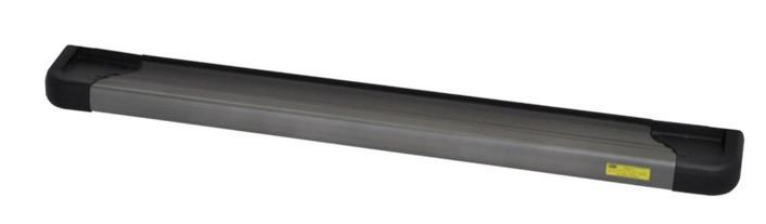 Estribo Lateral Plataforma Alumínio Cor Ônix Citröen Jumper 2000 em diante