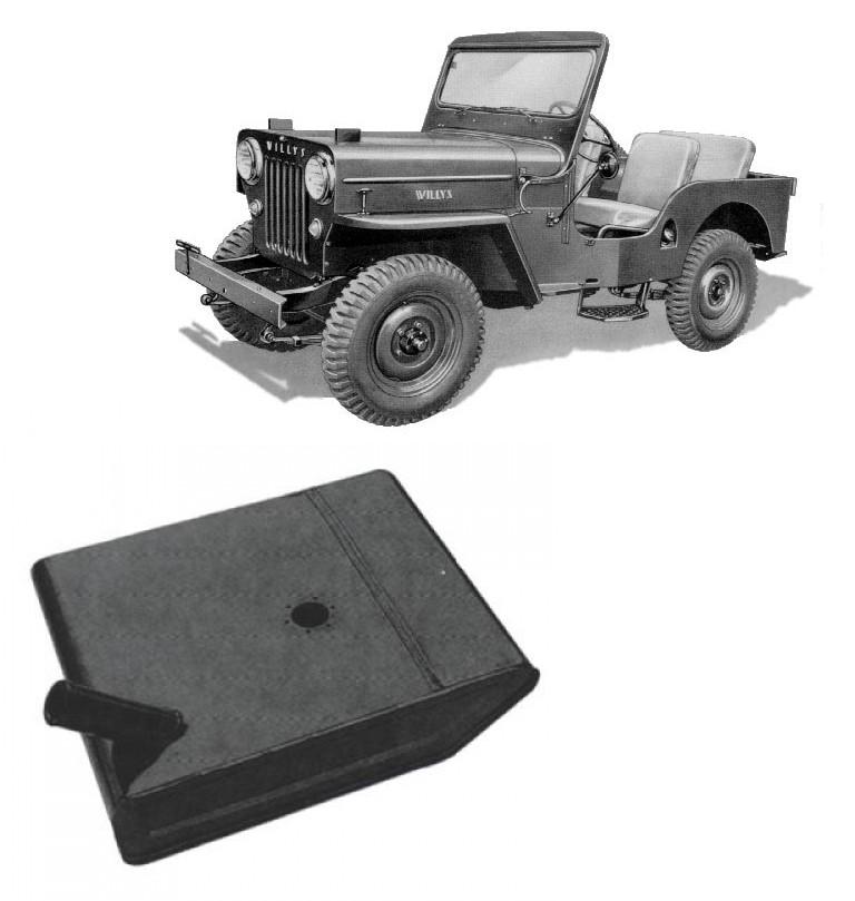 Tanque de Combustível 40 Litros para Jeep Willys 1965 em diante