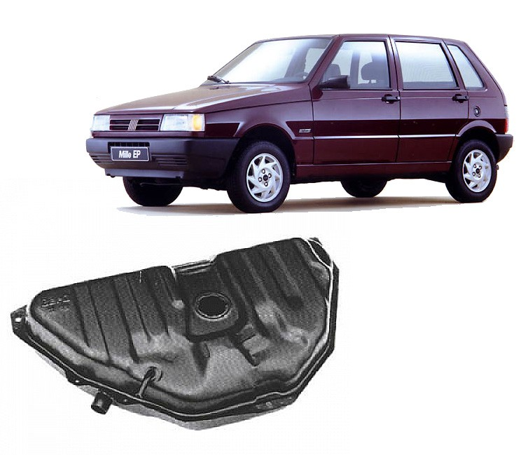 Tanque de Combustível 55 Litros para Fiat Uno, Premio com Válvula 1989 a 1993