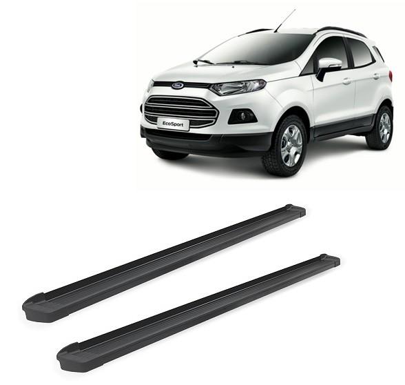 Estribo G3 Alumínio Preto Fosco Ford Ecosport 2013 em Diante